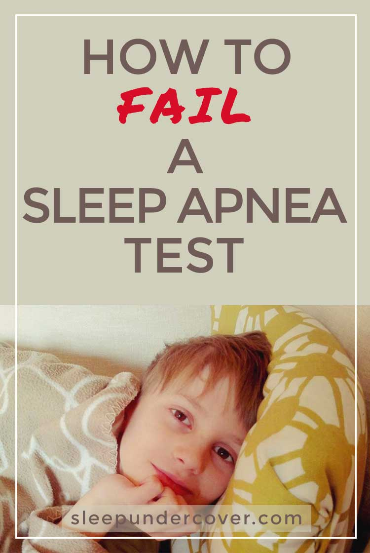 - HOW  TO FAIL A SLEEP APNEA TEST - First of all, who would want to fake a sleep apnea test? Maybe it would be for insurance fraud to get certain benefits.