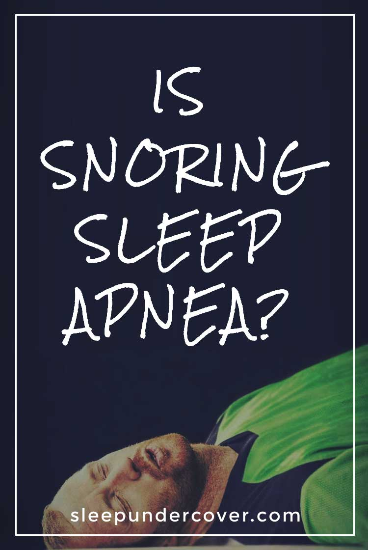 - IS SNORING SLEEP APNEA - Your snoring solution will work for sleep apnea depends on the cause of your sleep apnea and which snoring solution you are using.