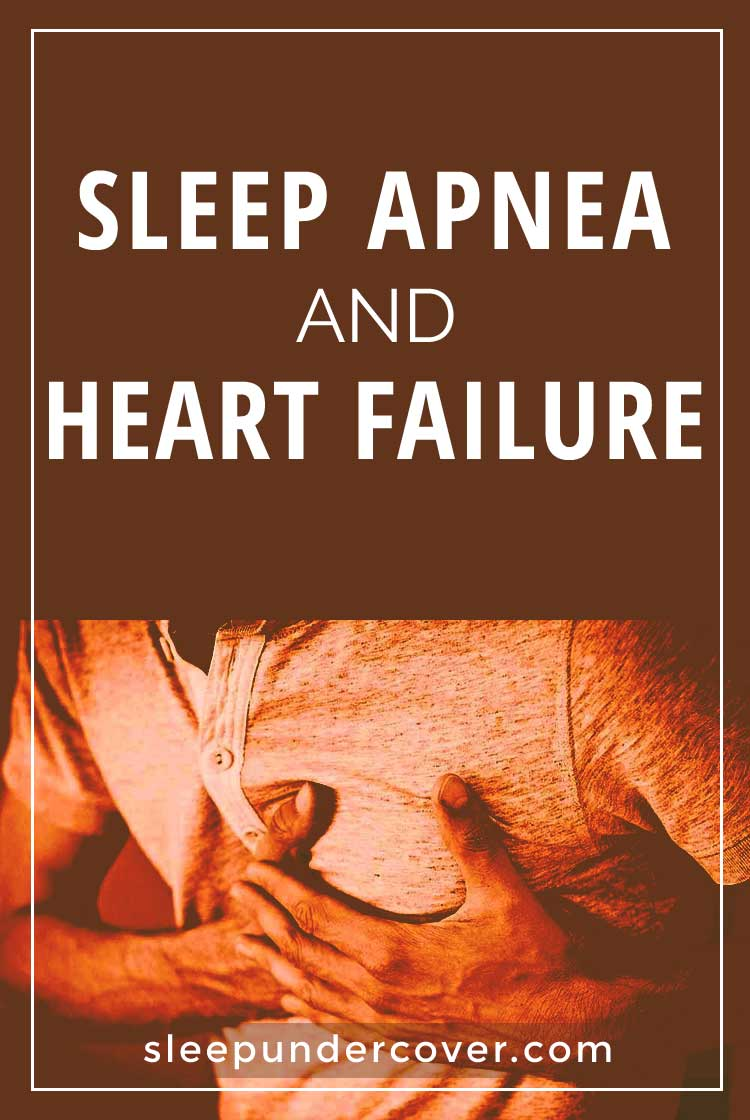 - SLEEP APNEA AND HEART FAILURE - One condition that is linked to the health of the heart is sleep apnea. This is a sleep disorder in which the body does not breathe as often as it should.