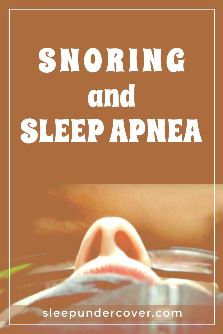- SNORING AND SLEEP APNEA - Both snoring and sleep apnea can cause reduced quality of sleep (for yourself or the members of your household!) but sleep apnea is a particularly serious condition that can have dangerous consequences.