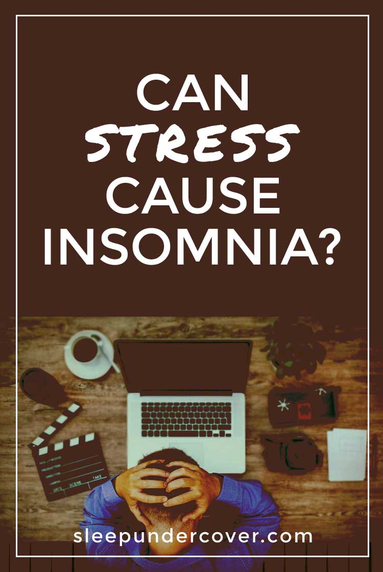 - CAN STRESS CAUSE INSOMNIA ? - As stress and insomnia are often linked, each of the two can act as a symptoms or sign for the other condition. Let's take a look at other signs and symptoms.