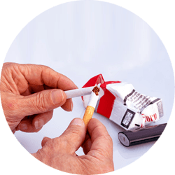 how to treat snoring stop smoking