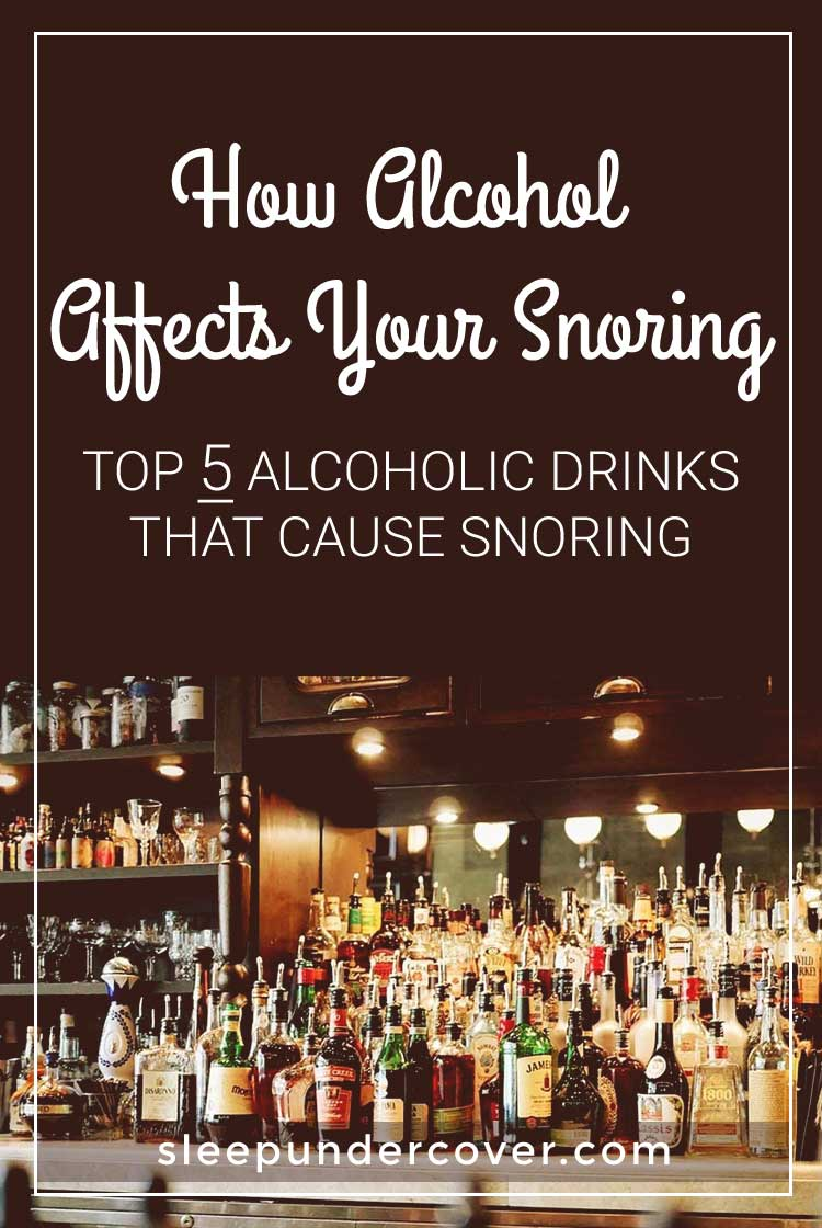 - HOW ALCOHOL AFFECTS YOUR SNORING - Alcohol has a sedative effect, which is the very reason that many people use it to fall asleep. The problem with this is that it has a tendency to relax all of the muscles in the body.