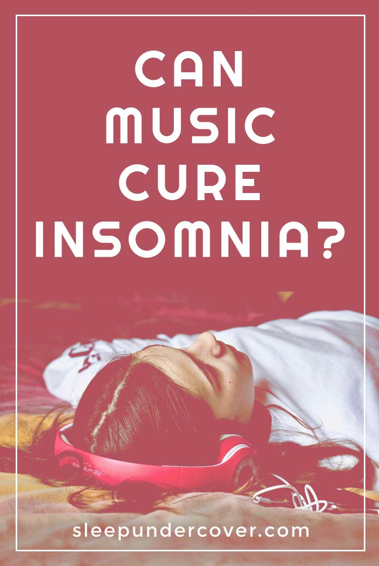 - CAN MUSIC CURE INSOMNIA ? - Since insomnia is often related to stress, high blood pressure, and anxious thoughts, it stands to reason that music may very well be the cure for losing sleep.