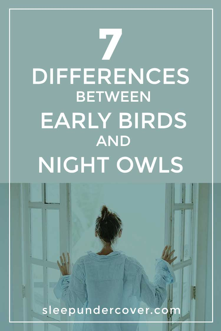 """- EARLY RISERS VS LATE RISERS - When it comes to sleeping and waking habits among humans, there exists a strong distinction between those who identify as a """"morning person"""" and those who would categorize themselves a """"night owl""""."""
