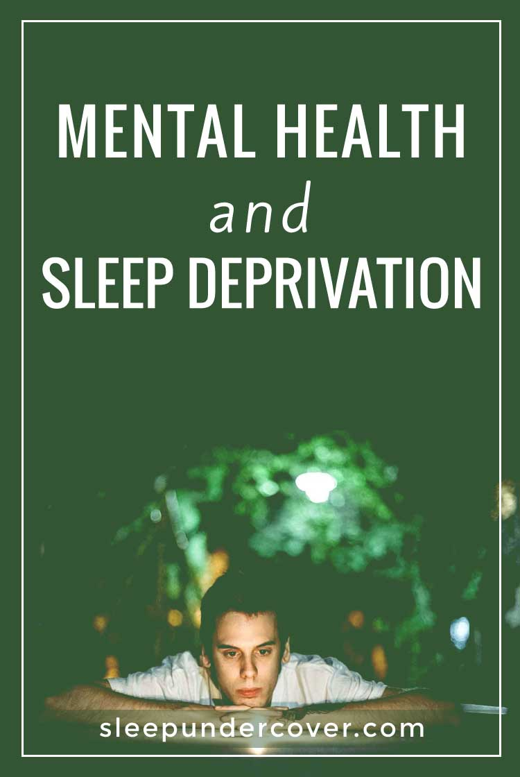 - MENTAL HEALTH AND SLEEP DEPRIVATION - Improving your sleep hygiene through healthy lifestyle changes is one of the most effective, natural ways to improve mental health while improving physical health as well.