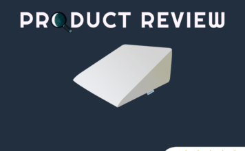 intevision foam wedge bed pillow review