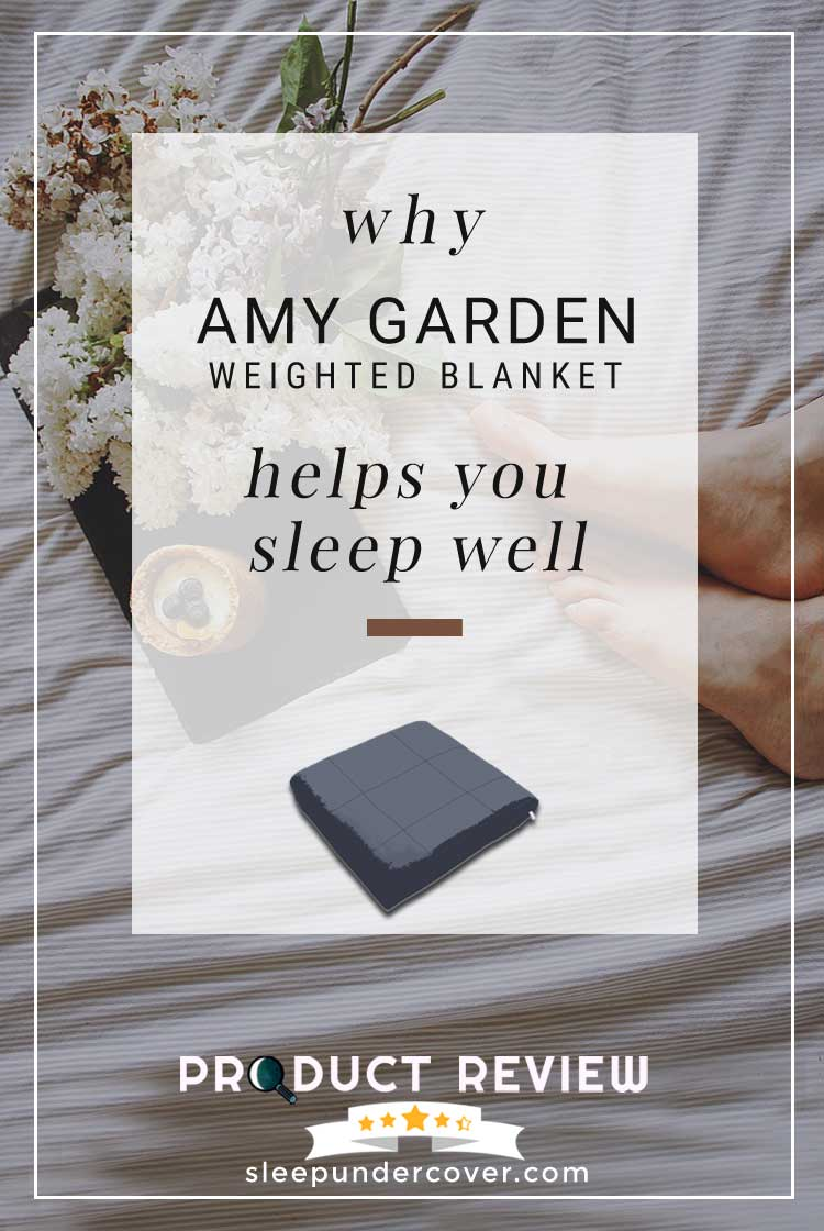 - AMY GARDEN WEIGHTED BLANKET REVIEW - For people who have never slept with a weighted blanket before, it's a great way to try one out. Here's why...
