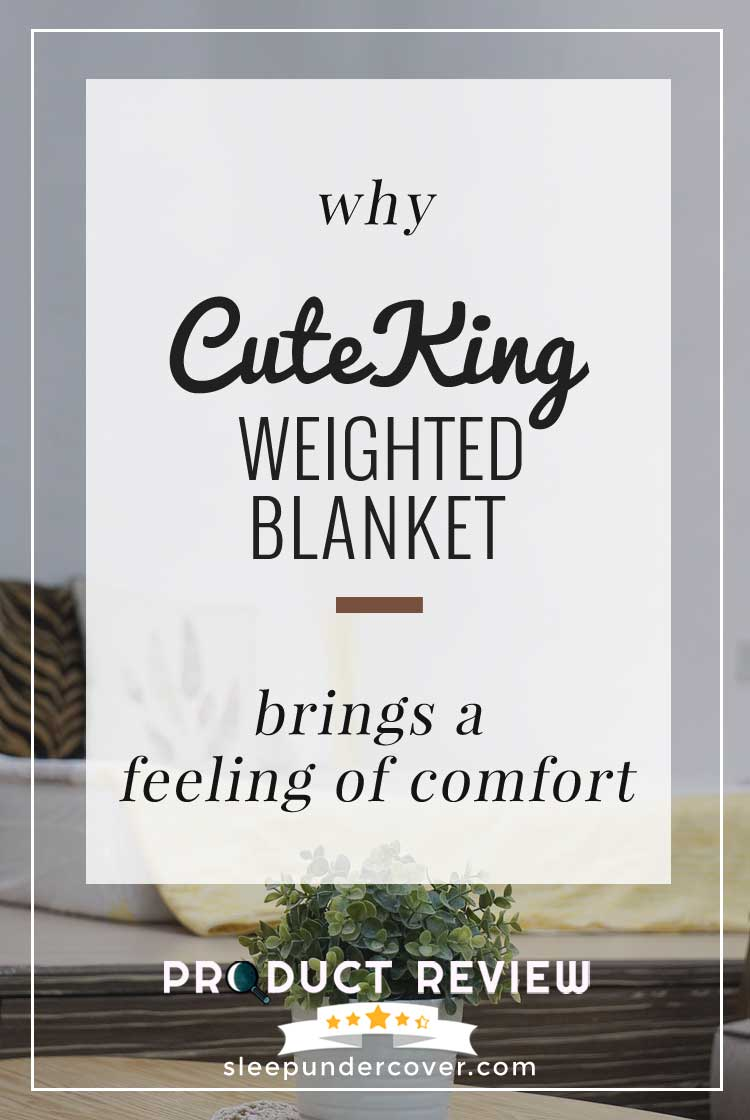- CUTEKING COOL WEIGHTED BLANKET - Here's a rundown of what we'll provide in this CuteKing Weighted Blanket Review, so you can make a wise decision.