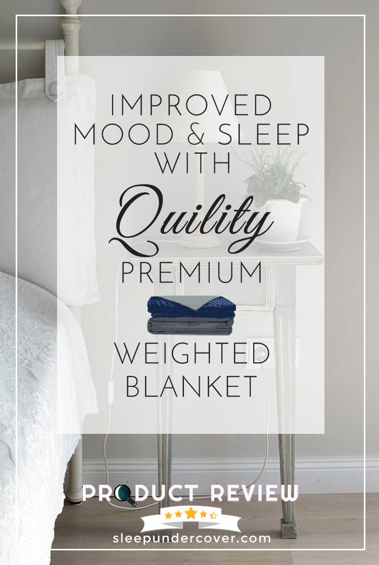 - QUILITY PREMIUM WEIGHTED BLANKET REVIEW - In this review we'll take a deeper look at the Quility Weighted Blanket to see if it might be right for you.