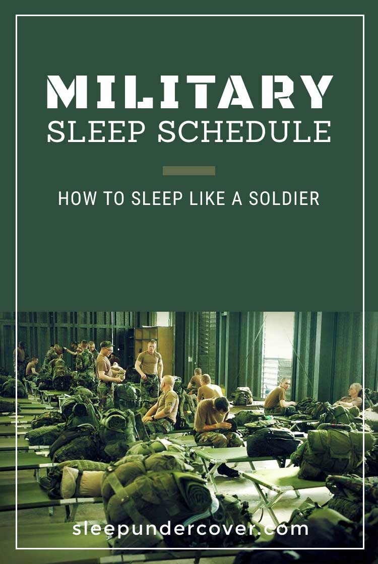 - MILITARY SLEEP SCHEDULE - Military personnel are notorious for sleeping little and accomplishing much! Here are tips and tricks that military personnel use.